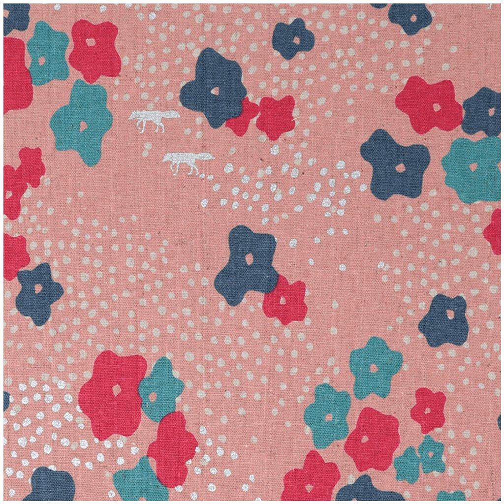echino-canvas-bavlna-len-kvety-pink