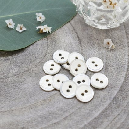 boutons halo off white