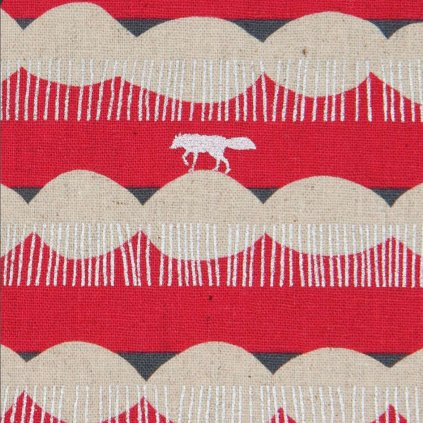 Screenshot 2019 10 24 echino canvas fabric with stripes and wolves in dark pink(1)