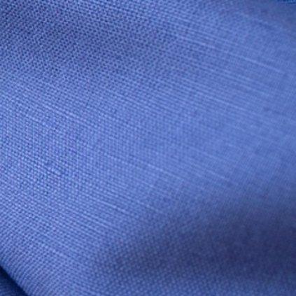 tissu linen cobalt
