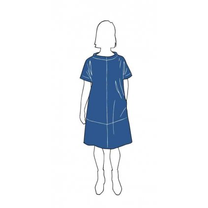 the-assembly-line-cap-sleeve-dress-strih