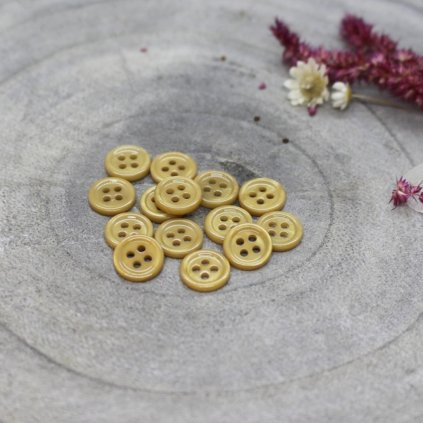 boutons bliss mustard