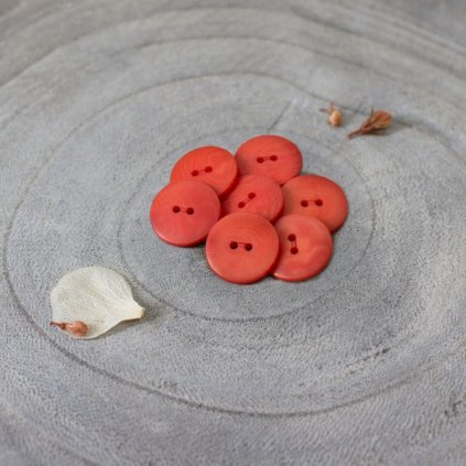 Palm Buttons Tangerine 14954