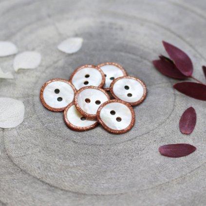 Glitz Buttons Chestnut 13990