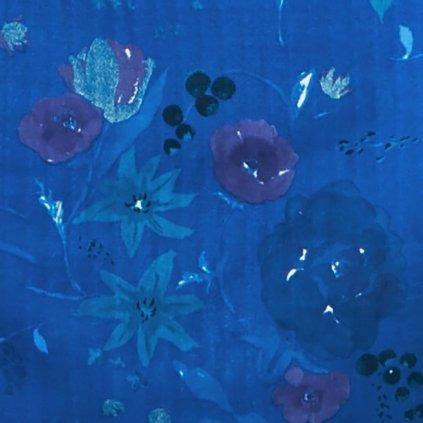 nani-iro-fuccra-rakuen-modra-kvety