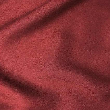 atelier brunette crepe amarante fabric