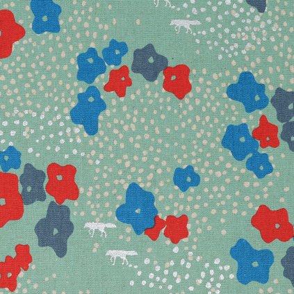 echino-canvas-bavlna-len-kvety-tyrkys