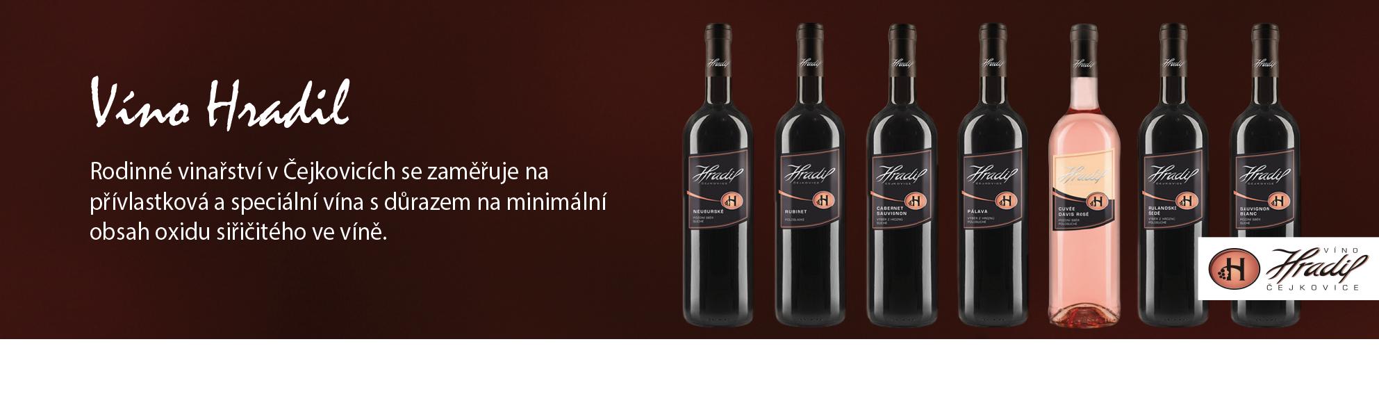 Víno Hradil