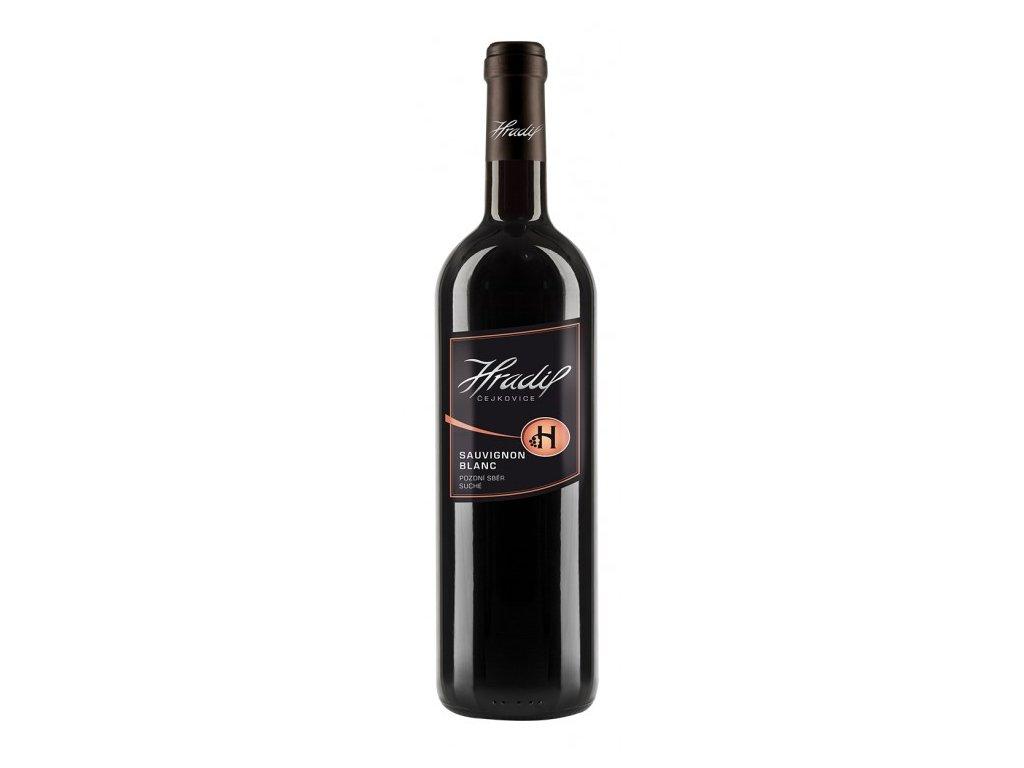 Sauvignon Blanc Víno Hradil 575x728