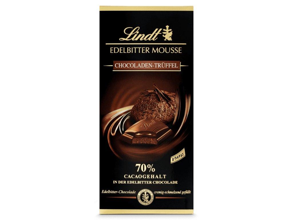 Lindt Edelbitter Mousse Chokoladen Trüffel 150 g