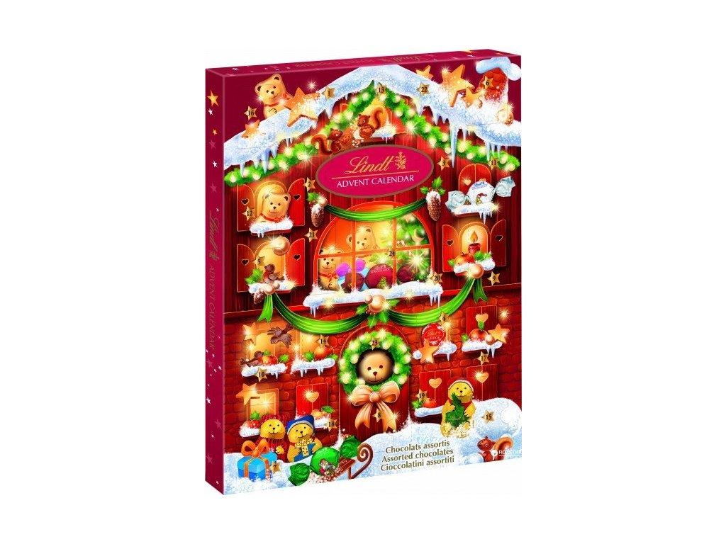 Lindt Teddy adventní kalendář 172 g
