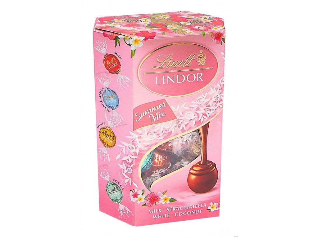 LINDT Lindor SUMMER MIX 500g ( bonboniéra )