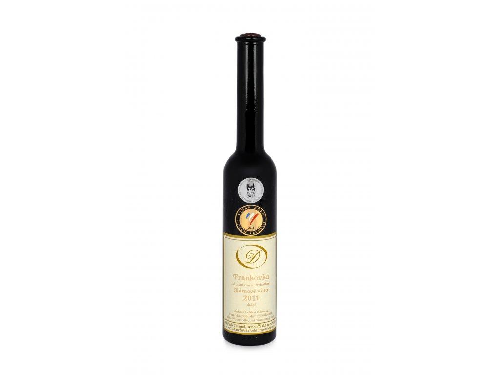 Frankovka, Slámové víno 2011, jakostní s přívlastkem