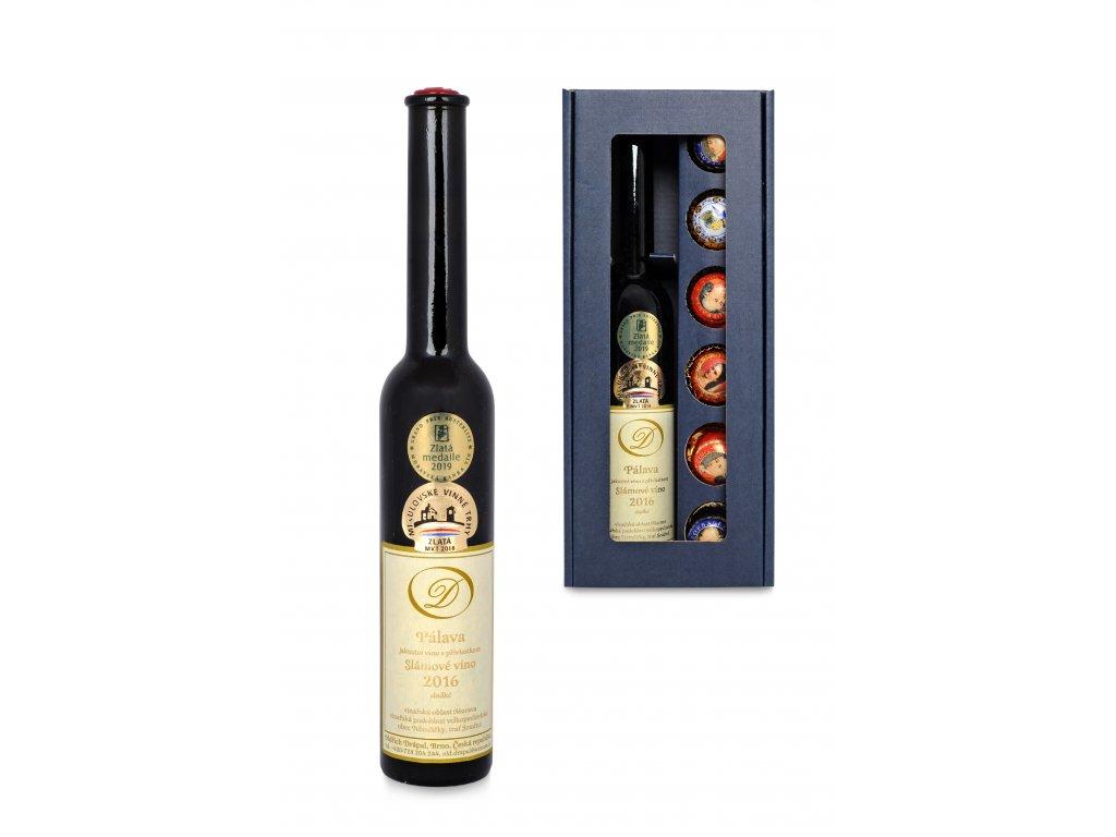 Pálava slámové víno, set Mozartovy koule 01