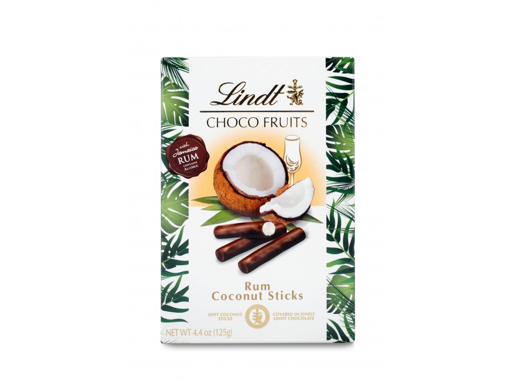 lindt Choco Fruits Rum Coconut Sticks