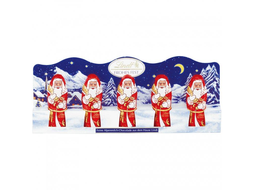 lindt mini weihnachtsm nner(1) mikulas 5x10g