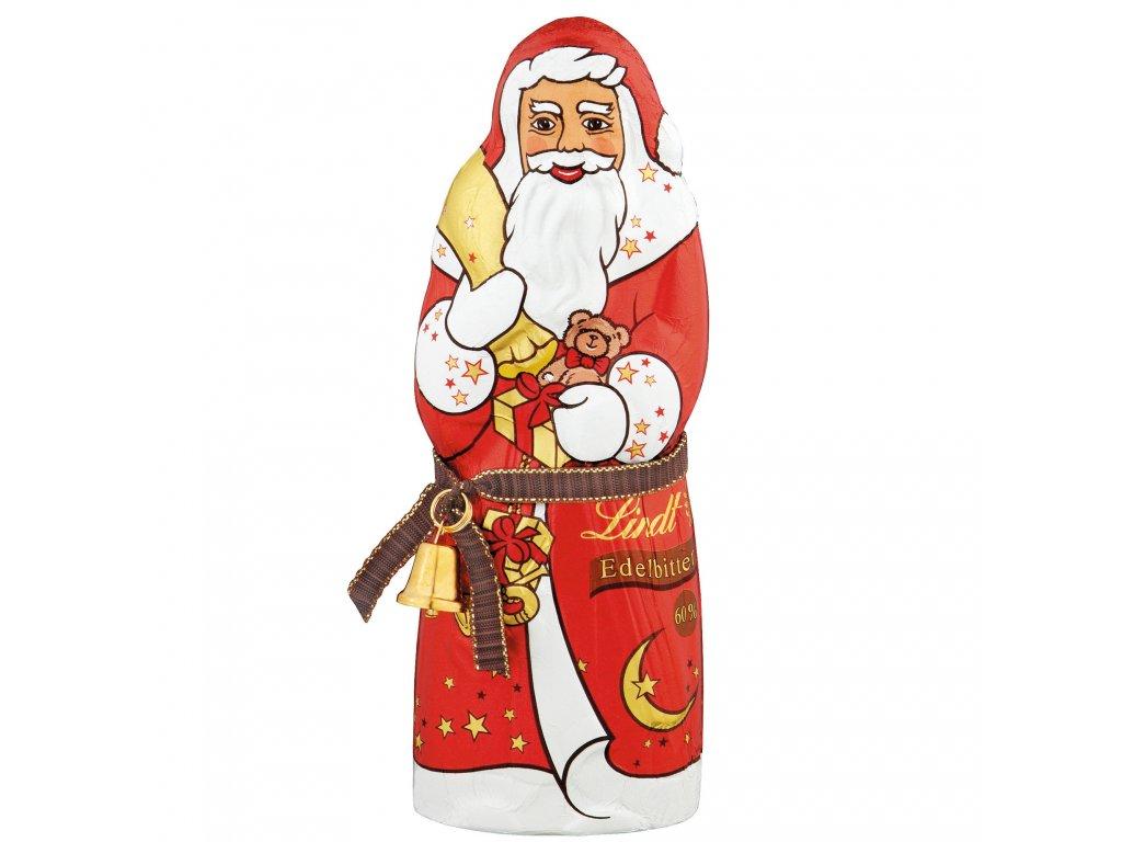 lindt weihnachtsmann edelbitter 125g hořká