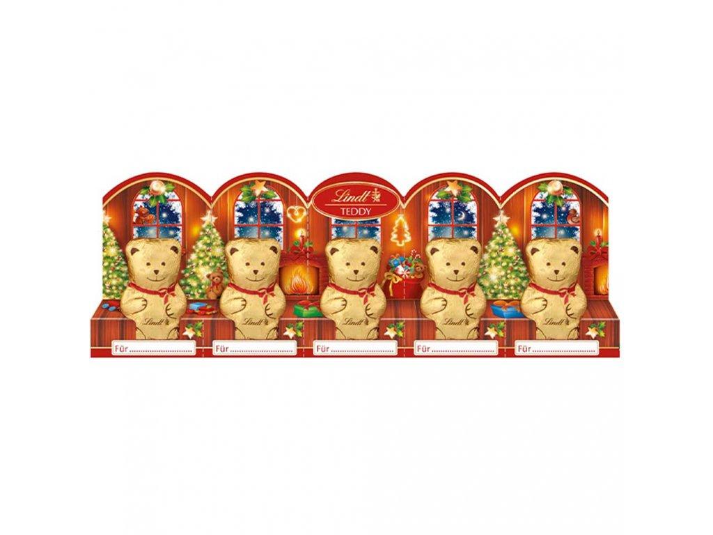 lindt mini teddy mit perforation 5x10g