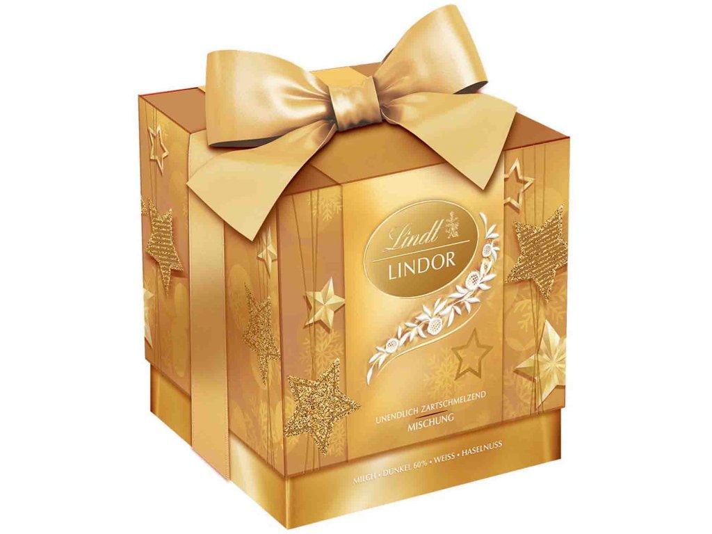 zlatá krabička 99g s mašlí