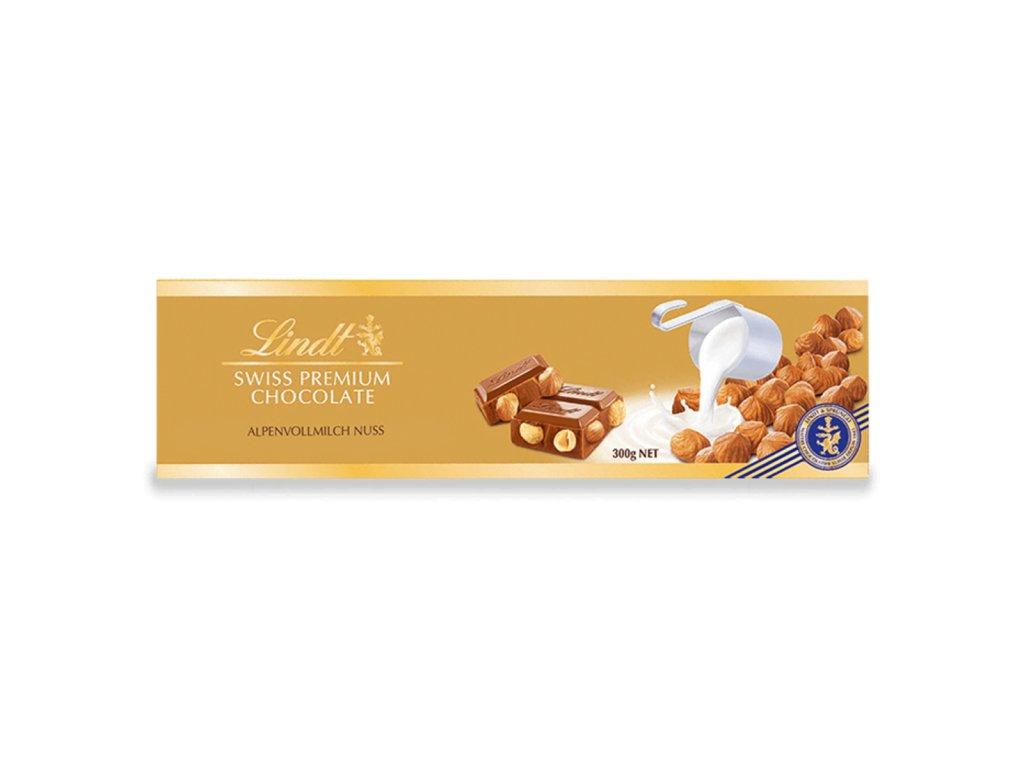 OK LINDT SWISS Alpen vollmilch nuss Gold 300g