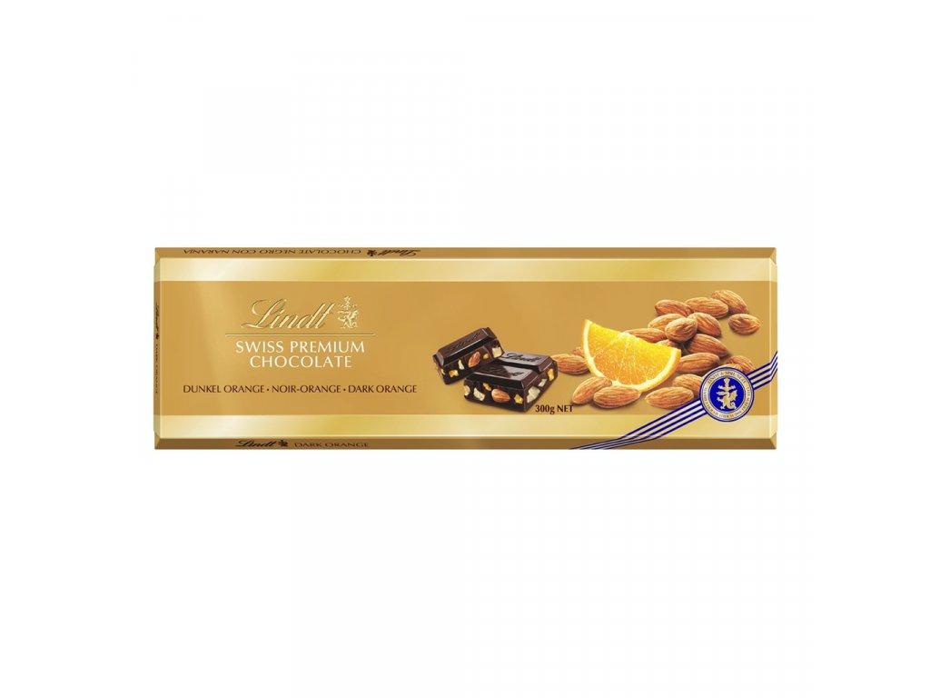 OK LINDT SWISS Alpen Dark nuss & orange Gold 300g