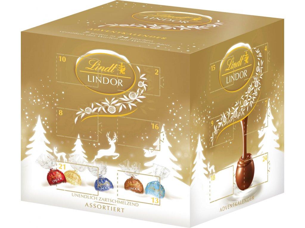 lindt lindor advent calendar cube 300 g 777931 en