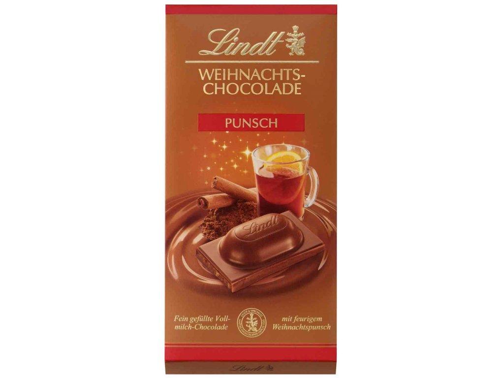 lindt weihnachts chocolade punsch 100g