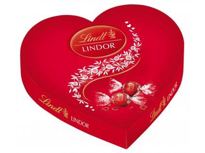 LINDT LINDOR bonboniera Lindor 160g Srdíčko (PRALINKY)