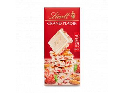 Lindt Grand Plaisir Fraises & amandes 150 g