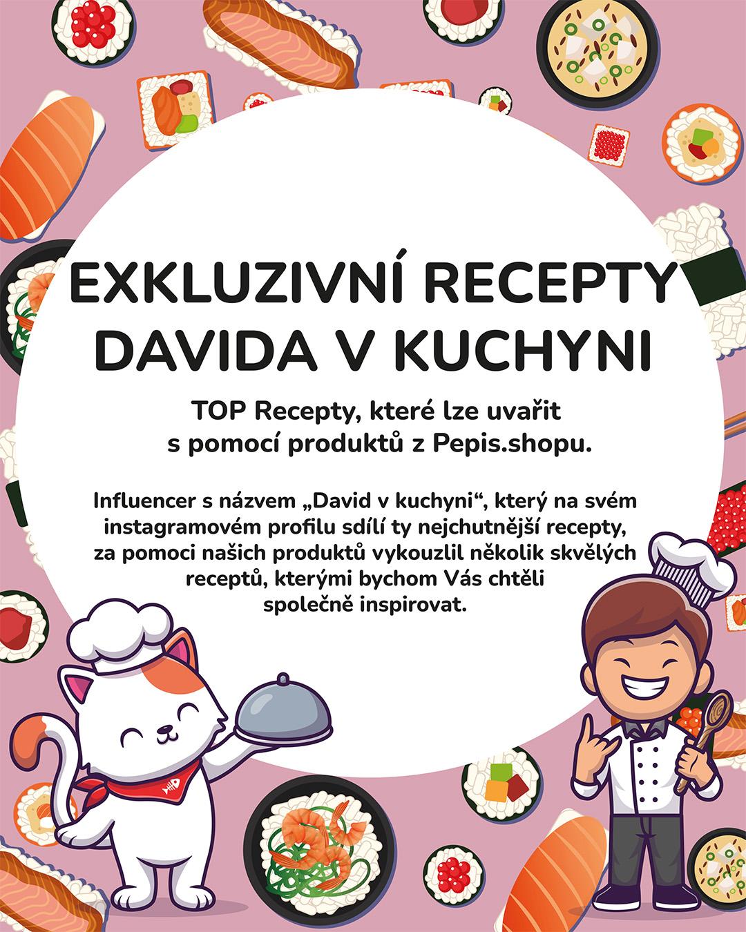 TOP RECEPTY: Nechte se inspirovat recepty od Davida v kuchyni!