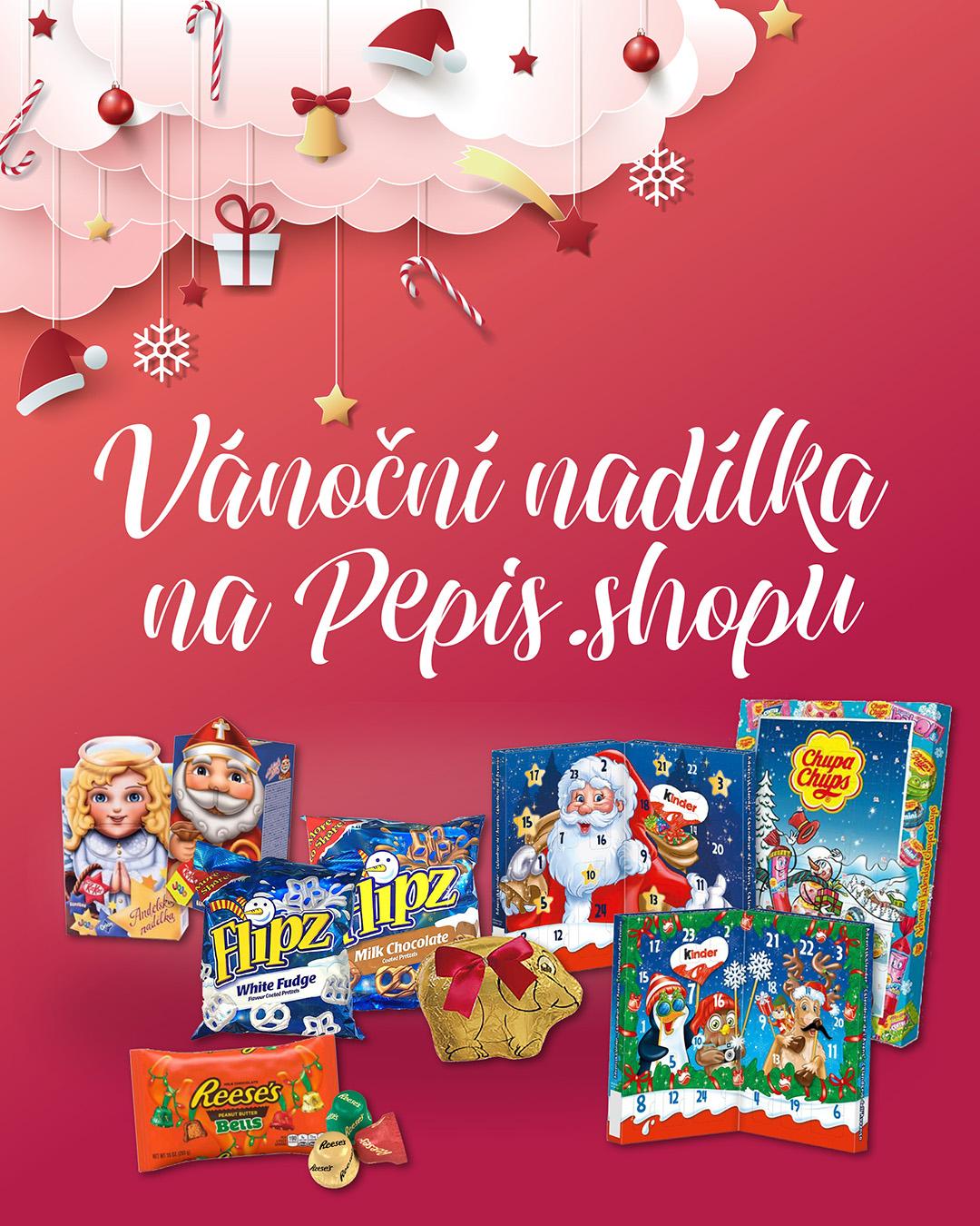 Vánoční nadílka na Pepis.shopu