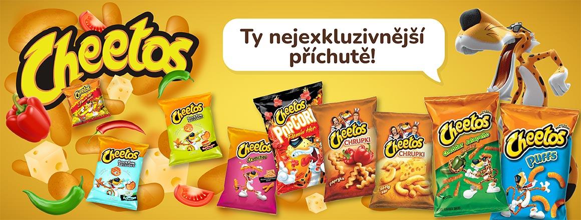 Cheetos– Exkluzivní druhy!