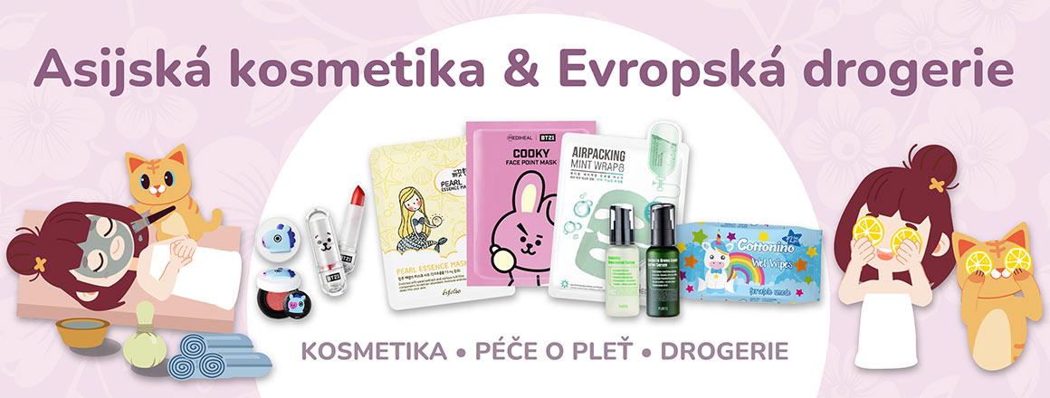 Asijská kosmetika & Evropská drogerie