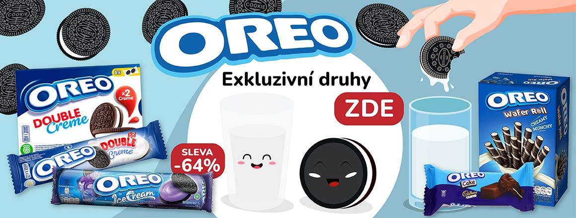 Exkluzivní druhy Oreo sušenek!