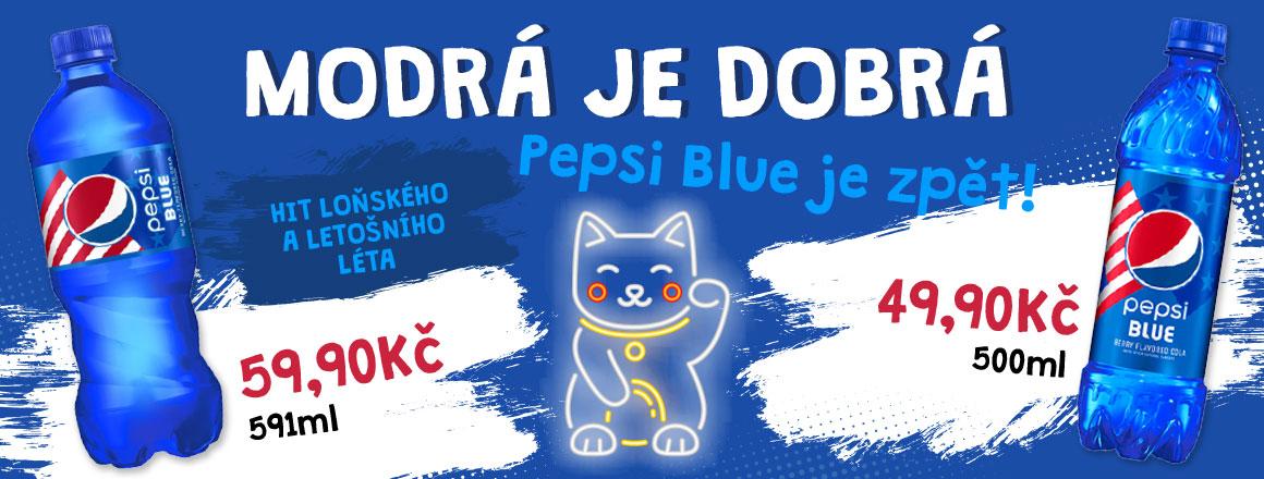 Pepsi Blue je zpět!