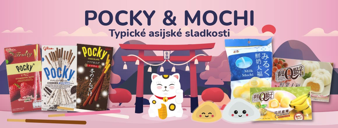 Pocky & Mochi