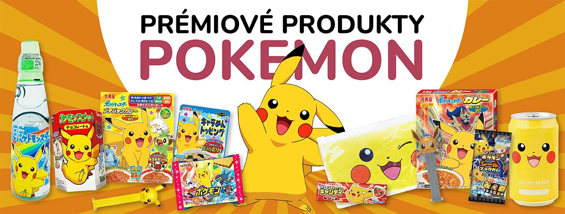 Prémiové produkty POKEMON