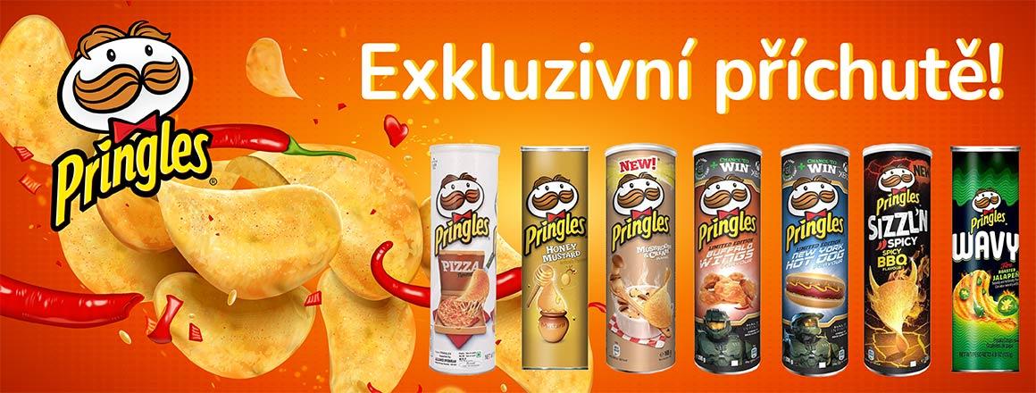 Exkluzivní příchutě Pringles!