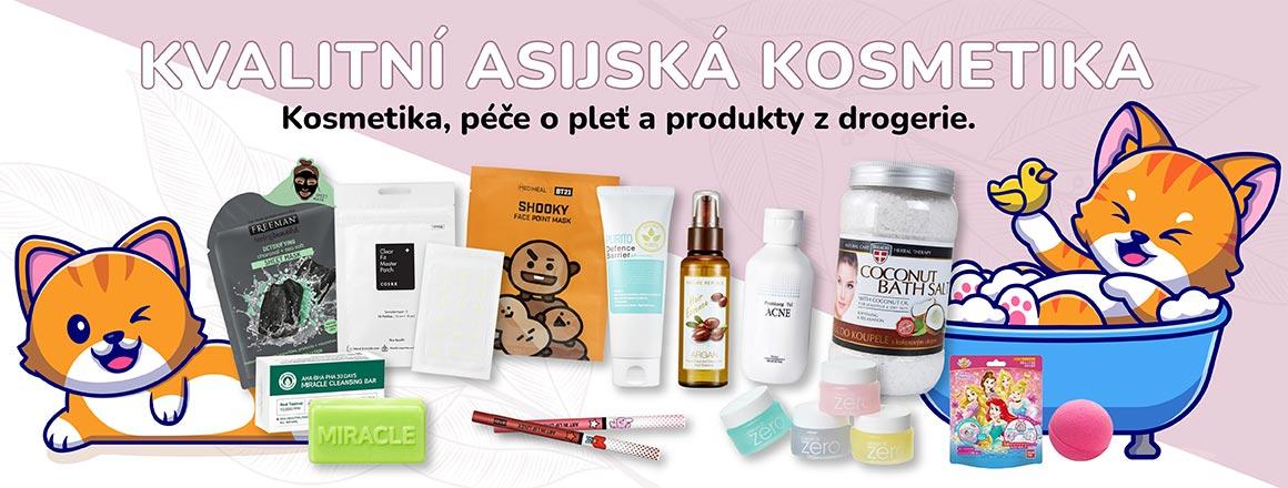 Asijská kvalitní kosmetika