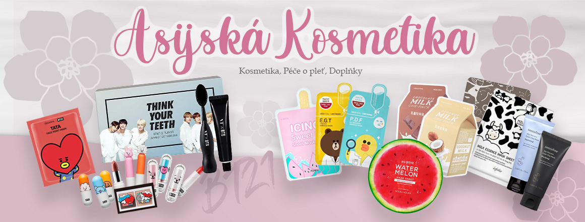 Asijská kosmetika