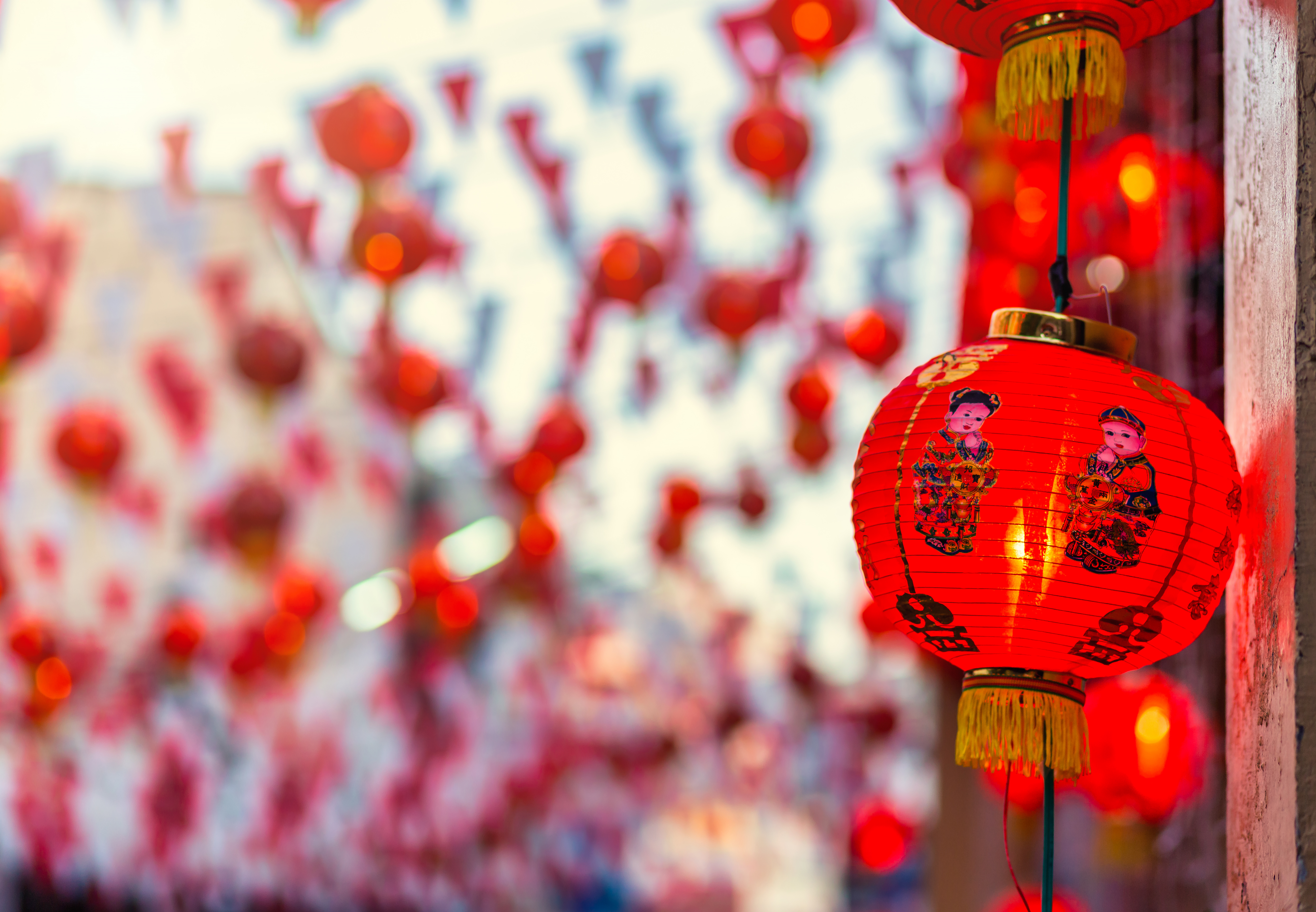 beautiful-red-lantern-decoration-chinese-new-year-festival-chinese-shrine-ancient-chinese-art-chinese-alphabet-blessings-written-it-is-public-place