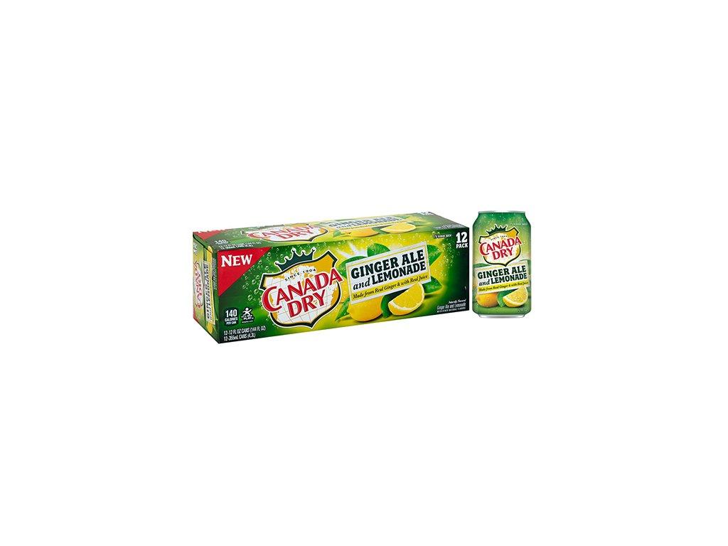 canada dry ginger lemon
