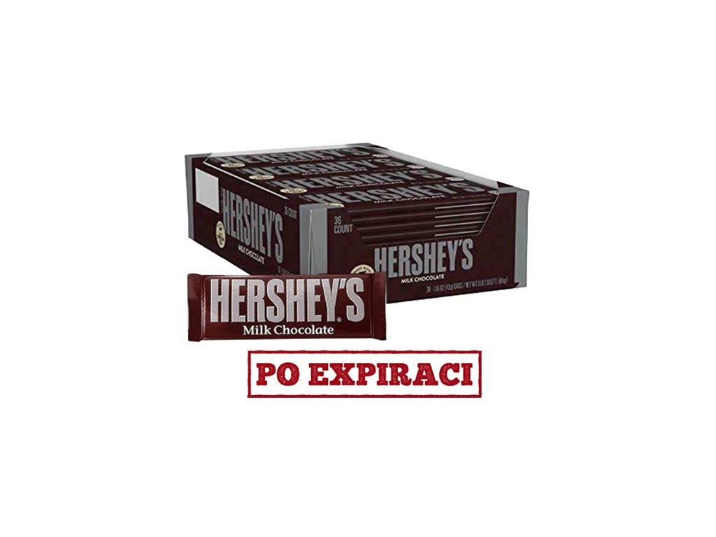 Hershey's Milk Chocolate Balení (36x43g) USA