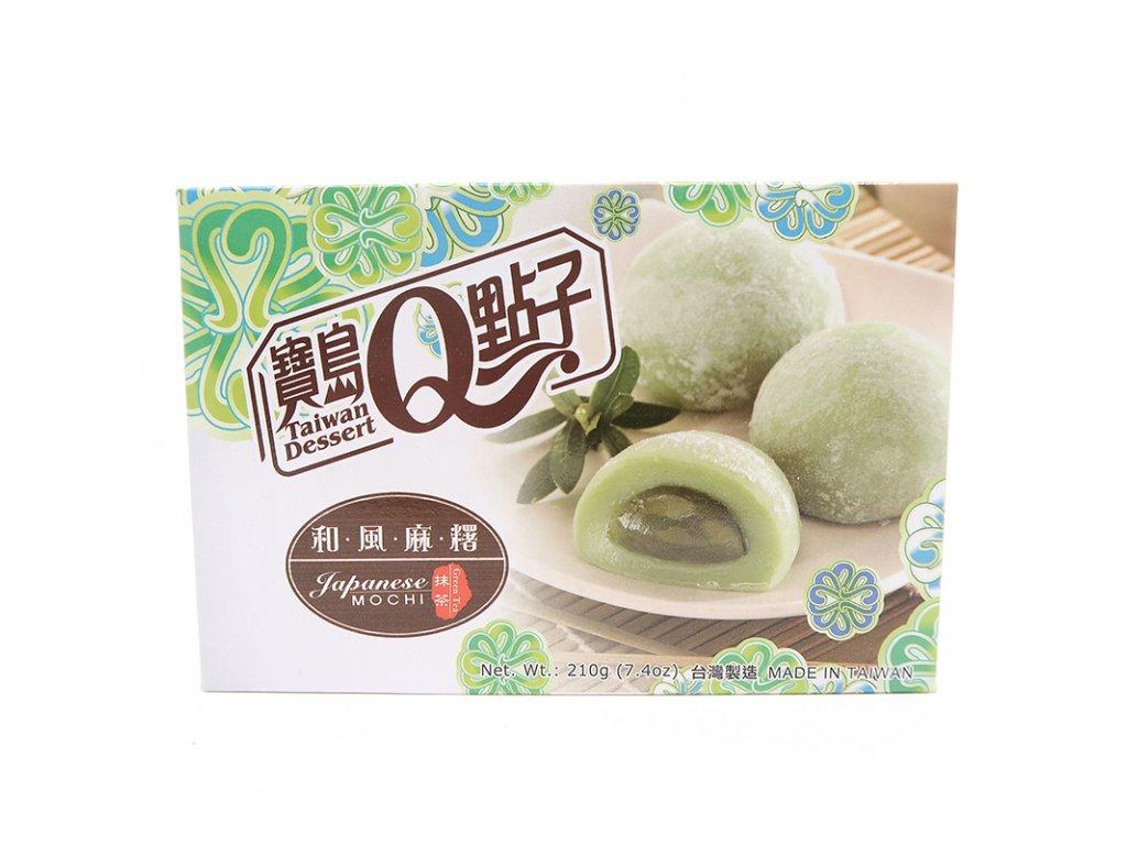 Mochi rýžové koláčky zelený čaj - PEPIS.SHOP