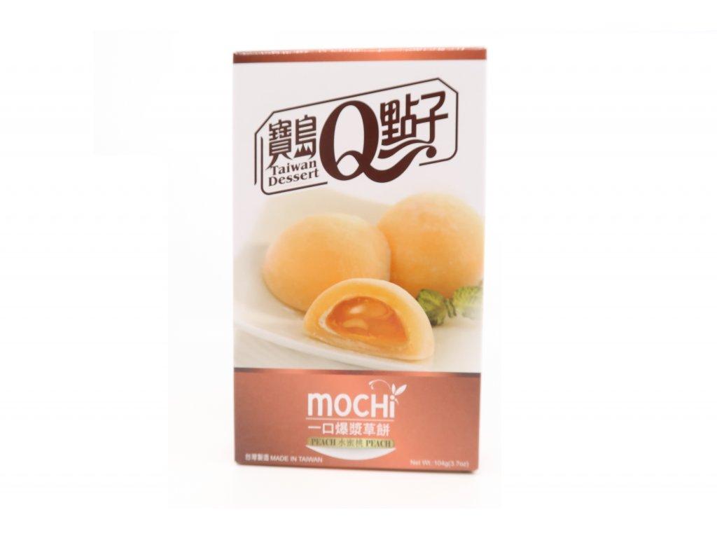 Mochi rýžové koláčky broskev - PEPIS.SHOP