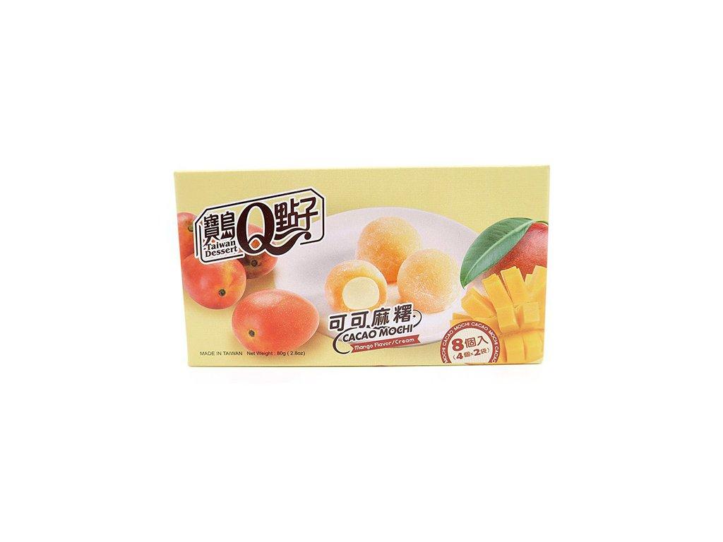 Mochi Rýžové Koláčky Kakao Mango 80g TWN
