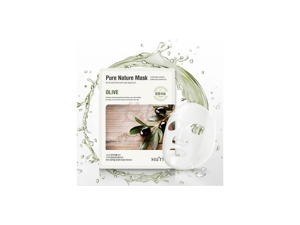 Secriss Pure Nature Mask Olive 1