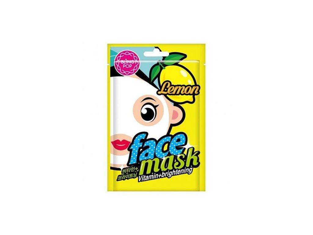 689 maska na oblicej citron bling pop 20ml