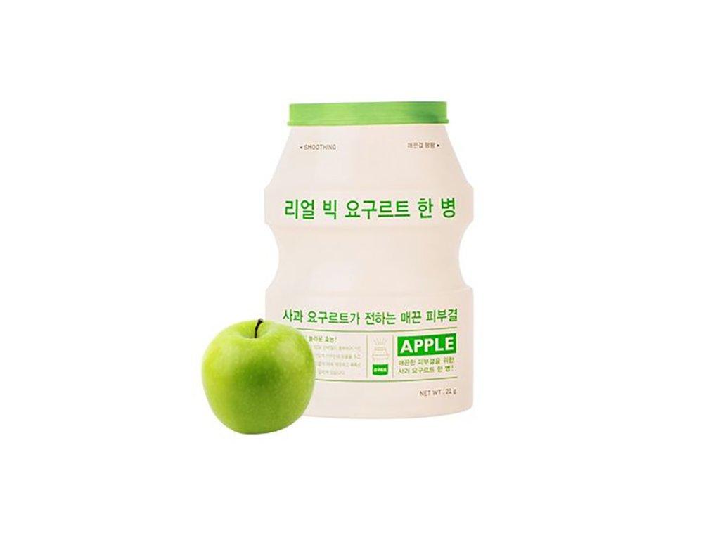 A'PIEU Real Big Yogurt One Bottle Apple Sheet Mask 30g KOR