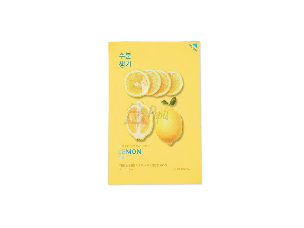 Holika Holika Pure Essence Lemon Sheet Mask 30g KOR